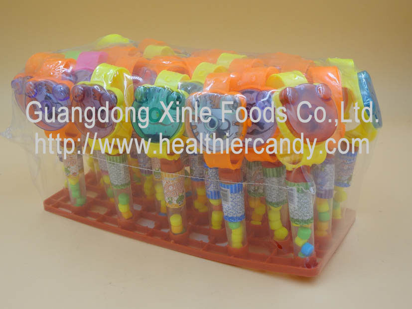 Sweet Colorful Novelty Candy Toys Fruit Flavor Compressed Hard Candies